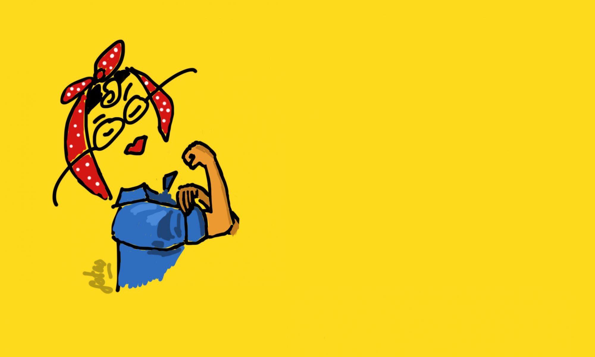 la web vista con gafotas